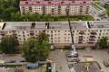 Кровлю пострадавшего отпожара дома вЮжно-Сахалинске сегодня полностью укроют рубероидом