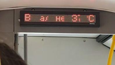 Вмуниципальных автобусах Южно-Сахалинска 37-градусная жара