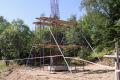 ВКорсакове возводят новую стелу навъезде вгород