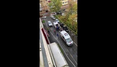ВЮжно-Сахалинске утром тушили пожар впятиэтажке