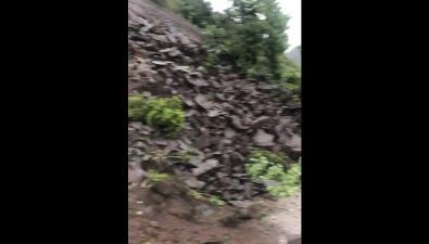 Оползень перекрыл дорогу Холмск— Невельск