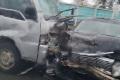 ВЮжно-Сахалинске седан имикроавтобус столкнулись наповороте