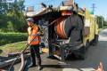 ВЮжно-Сахалинске промывают ливневые коллекторы