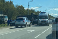 Авария навыезде изЮжно-Сахалинска затрудняет движение