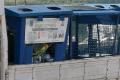 Нагородской свалке Южно-Сахалинска заметили выгрузку мусора изсиних контейнеров