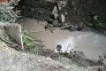 Вреки Углегорского района продолжает стекать грязь сразрезов
