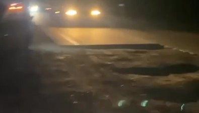 Сахалинцы подумывают судиться скомпанией, которая ремонтирует долинскую трассу