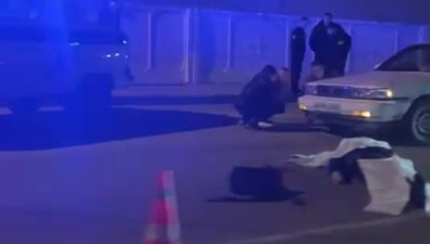 Напереходе вКорсакове насмерть сбили пешехода