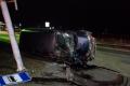ВНовотроицком вДТП повредили столб