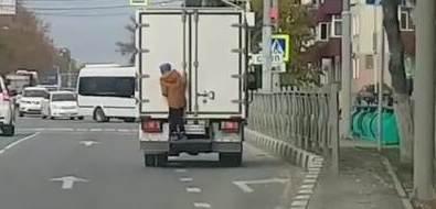 Подросток, прокатившийся нагрузовике, заставил сахалинцев вспомнить детство
