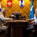Губернатор провел встречу с начальником сахалинского наркоконтроля