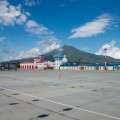 Первый самолет сел в новом аэропорту на Итурупе