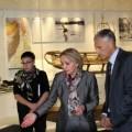 Губернатор Александр Хорошавин посетил Сахалинский областной краеведческий музей
