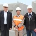 Завершился первый этап проекта берегоукрепления порта Невельска