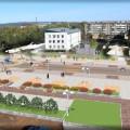 В Тымовском реконструируют площадь Ленина