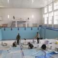 Мэр Южно-Сахалинска Сергей Надсадин проверил ход ремонтных работ в городском бассейне