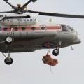 Сахалинские спасатели провели воздушную тренировку