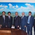 Мэр Южно-Сахалинска встретился с делегацией из японского города Хиросаки