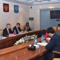 Мэр Южно-Сахалинска встретился с Генеральным консулом КНР в Хабаровске
