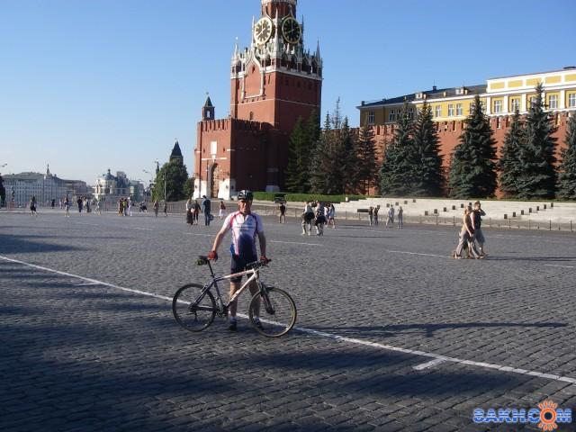 утром на Красной площади