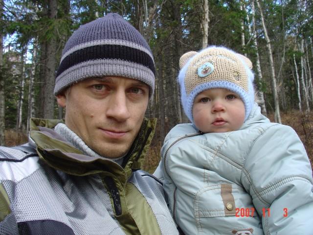 С сыном на прогулке  Просмотров: 2443 Комментариев: 4