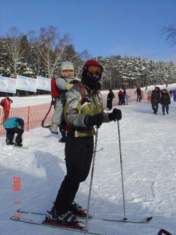 Открываем лыжный сезон с сыном  Просмотров: 2518 Комментариев: 1
