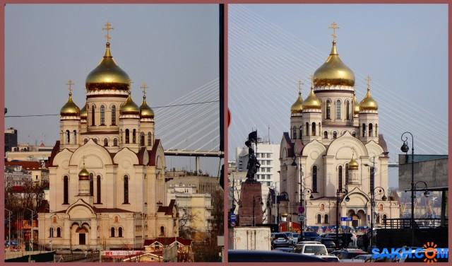 MyCollages Православный Спасо-Преображенский собор в центре города  Просмотров: 83 Комментариев: 0