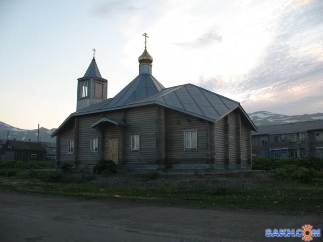 Церковь в г. Северо-Курильске