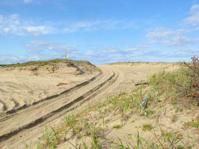 Песчанные трассы
