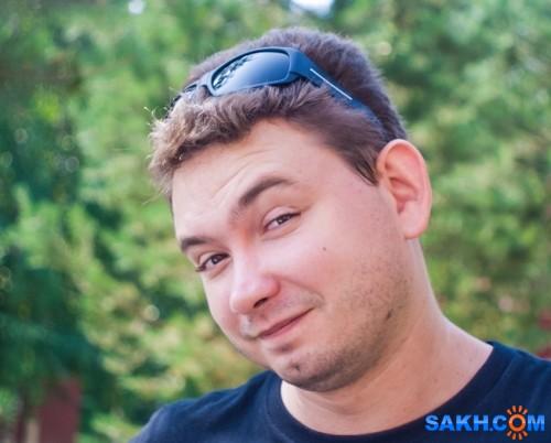 Иччи Пок Андрейка. Этот хитрющий взгляд заставит улыбнуться кого хочешь :)))  Просмотров: 172 Комментариев: 0