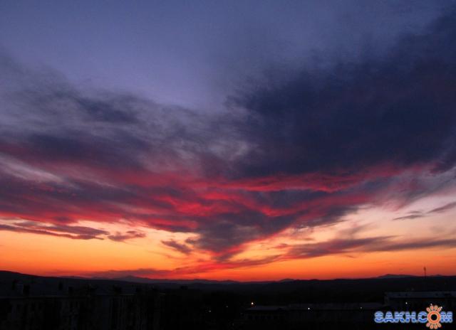 Красные облака к ветру..  Фотограф: vikirin  Просмотров: 4330 Комментариев: 2