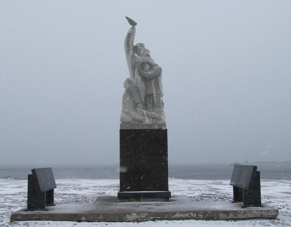 Памятник рыбакам
