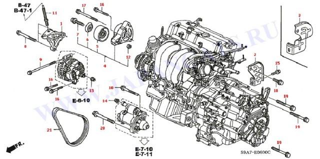 ford escape control arm diagram