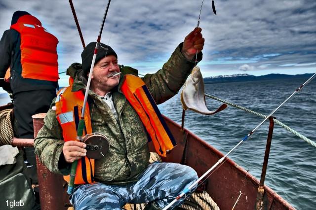 рыбалка в Охотском море  Просмотров: 1619 Комментариев: 2