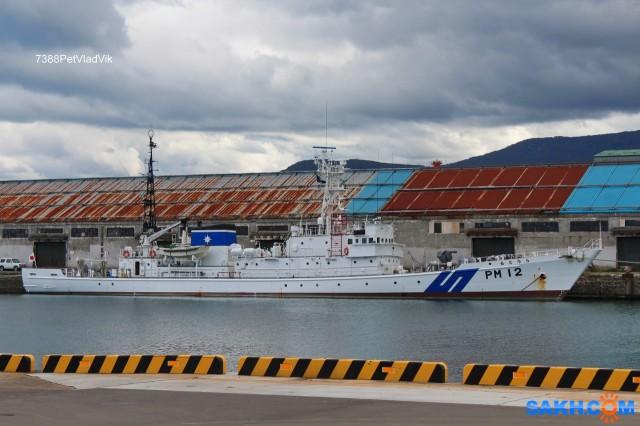PM 12.  (судно береговой охраны Японии). Фотограф: 7388PetVladVik  Просмотров: 3079 Комментариев: 0