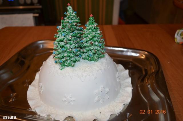 Фото торта елка