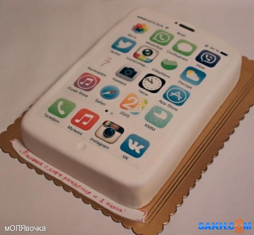 Торт в виде телефона картинки