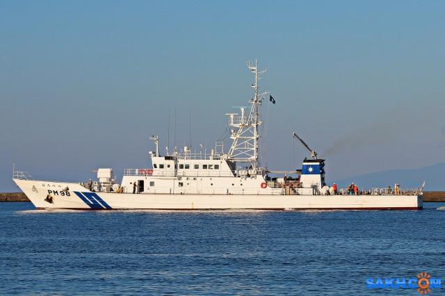 PM98.  (Судно береговой  охраны Японии?) Фотограф: 7388PetVladVik  Просмотров: 3151 Комментариев: 0