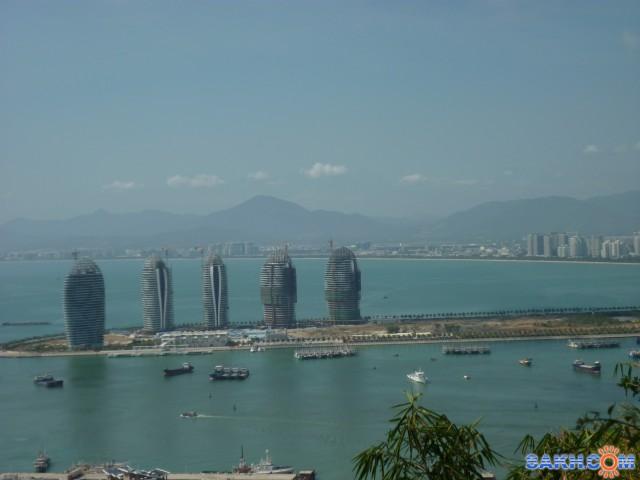 Остров хайнань, город санья