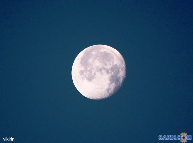 Луна на рассвете Фотограф: vikirin  Просмотров: 3766 Комментариев: 0