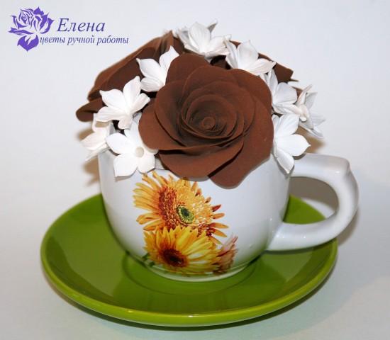 Кофейные розы  Просмотров: 806 Комментариев: 2