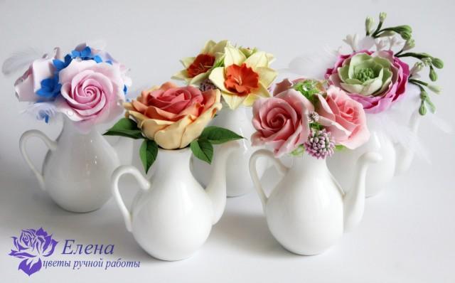 Цветочный чайничек  Просмотров: 227 Комментариев: 0