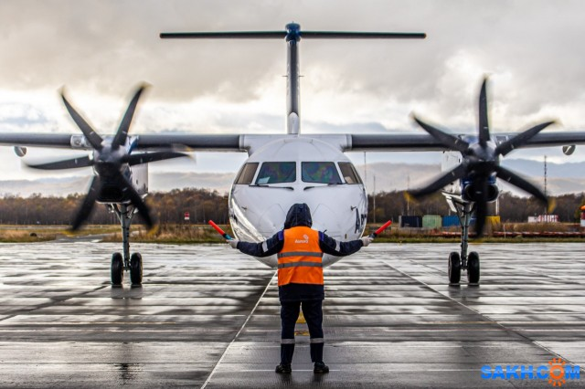 Bombardier DHC8 Q400. Аврора.