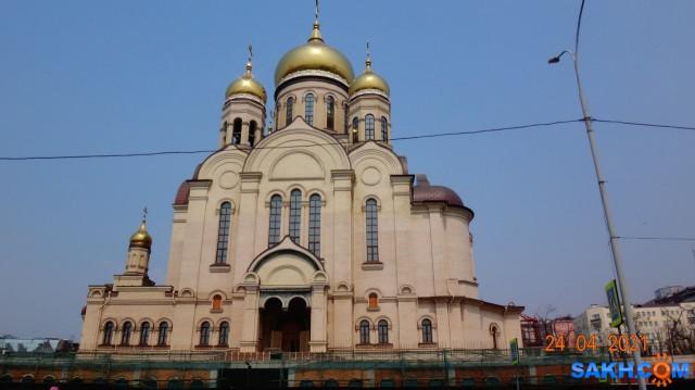 DSC02175 Православный Спасо-Преображенский собор в центре города  Просмотров: 24 Комментариев: 0