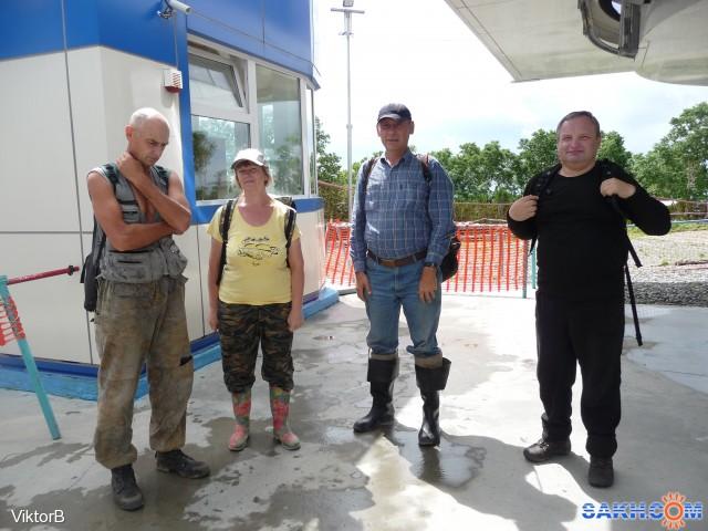 Конечная остановка, вот она, вершина счастья и адреналина, гора Большевик! Фотограф: viktorb  Просмотров: 819 Комментариев: 0