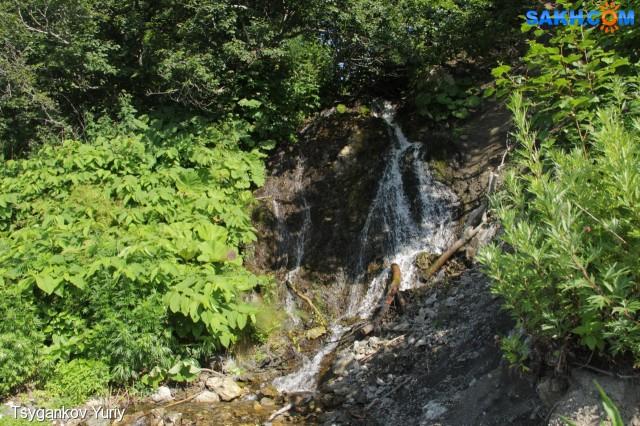Водопад на мысе Баклан