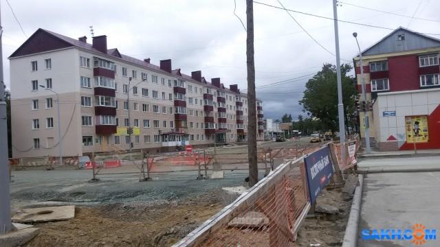 20170813_В Южно-Сахалинске идет капитальный ремонт