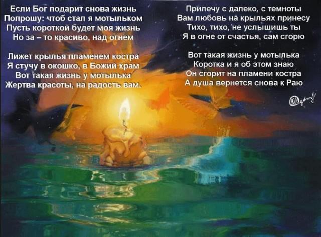 Стих о крыле жизни