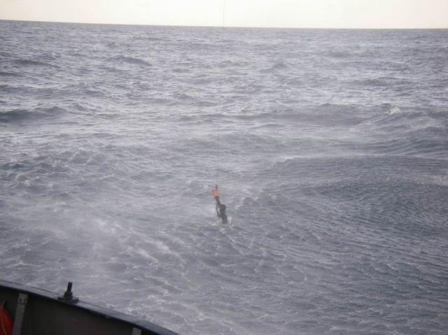 Подъем человека из воды