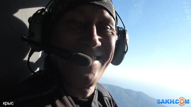 Юрий крыс. Друзьяки подарили ему полёт на вертолёте над Южным :)) Сразу видно на фото довольный, как слон :)))  Просмотров: 229 Комментариев: 2